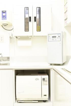 7. 安心していただける院内消毒、衛生管理